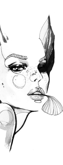 Fashion illustration // Sara Ligari