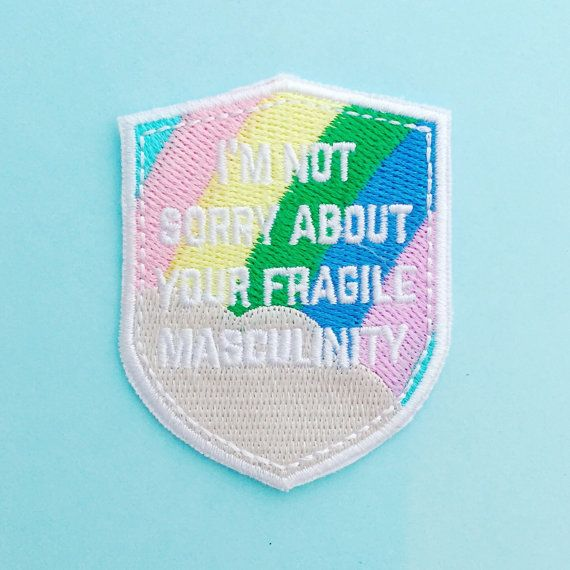 This sassy patch gets the message across loud and clear.