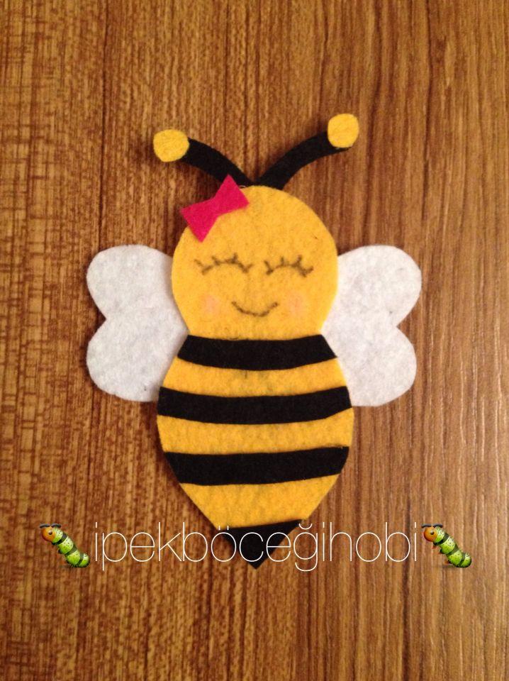 Arı temalı doğum günleri için magnet