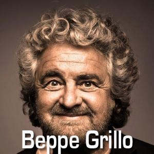 "ITALIAN COMEDIAN BEPPE GRILLO SHAKES UP ITALIAN POLITICS. Beppe looks a bit like the late American comedian John Belushi. To put him in perspective, he has formed a political party called the 5 Star Movement (M5S) protesting corruption in Italian politics. This is like Steven Colbert running for office. Silvio Berlusconi called Beppe a ""mytho-maniac"" [conspiracy theorist], showing that he is clearly panicking at the impact Beppe is having on politics-as-usual in Italy. Go Beppe!"