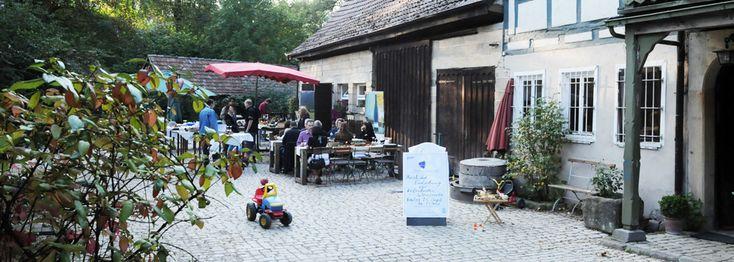 Eselsmühle im Siebenmühlental in Leinfelden-Echterdingen...wandern, Kaffee und Kuchen, Tiere, spielen, essen, feiern, im Garten sitzen, Hofladen plündern, Mühlrad bestaunen...wunderbar!