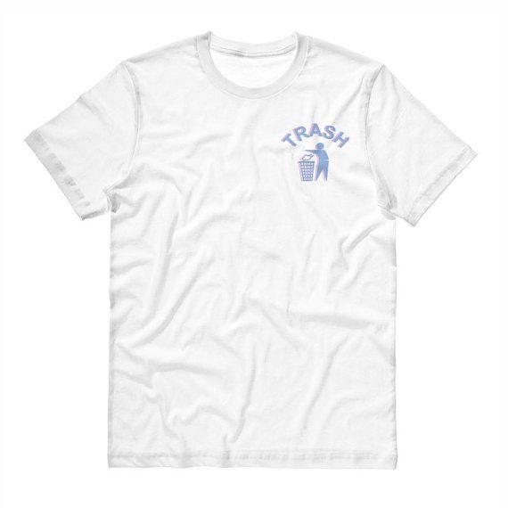Trash Shirt, Pastel  Goth, Tumblr Shirt, 90's Style, Internet Icon Shirt, Sad Sassy Shirt, Soft Grunge