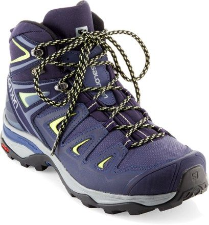 Salomon Women's X Ultra Mid 3 GTX Hiking Boots Crown Blue/Evening Blue 8.5