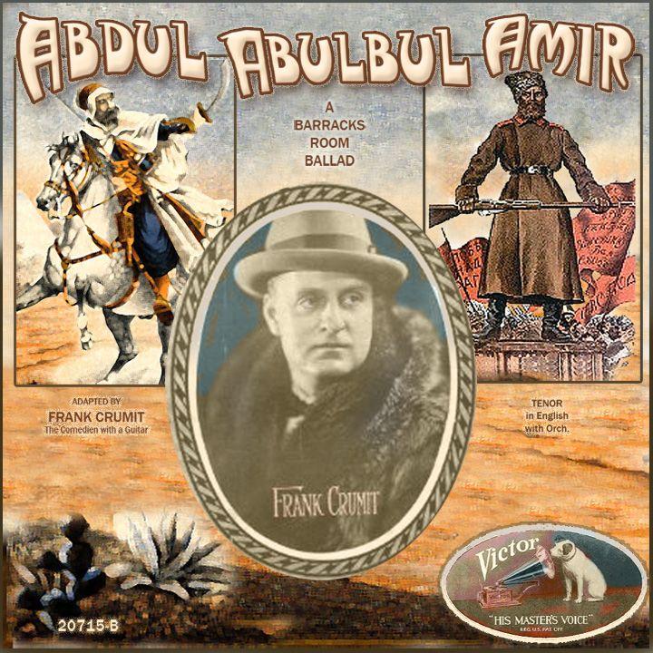 Abdul Abulbul Amir, Frank Crumit, 1927
