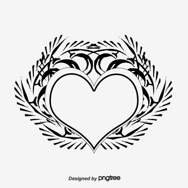 Heart Tattoo Tattoo Heart Shaped Black Png Transparent Clipart Image And Psd File For Free Download Heart Tattoo Tattoos Heart Shapes
