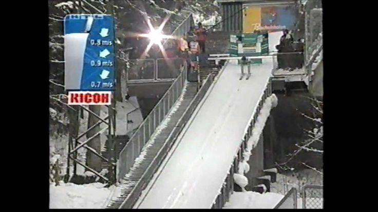 Sven Hannawald - als Erster alle Springen der Vierschanzentournee gewonnen ...