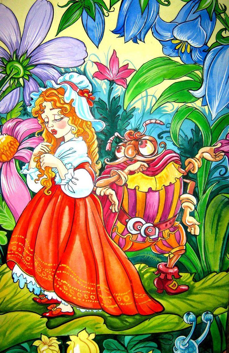 627 best thumbelina images on pinterest hans christian fairy
