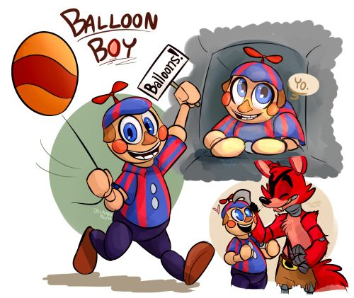 Our Friends And I Fnaf: 11 Best Balloon Boy Images On Pinterest
