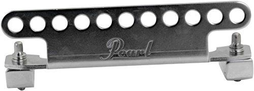 Pearl MH50 Level Bar for Snare Drum Sling Carrier:   MH50 Level Bar for Snare Drum Sling Carrier. Fitting onto the FFXs edge ring via standard drumkey bolts, the MH50 Level Bar securely holds the drum without inhibiting the top heads tuning range or sound quality. The MH50 is compatible with Pearls SLG100 sling and features 11 preset clip points to affix the drum in a comfortable playing position.