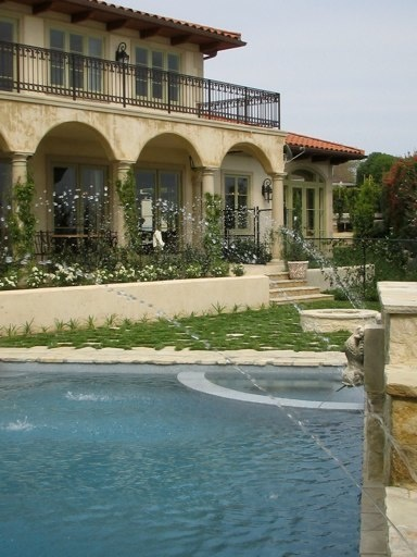 1000 images about outdoor living spaces pool inspiration for French mediterranean homes