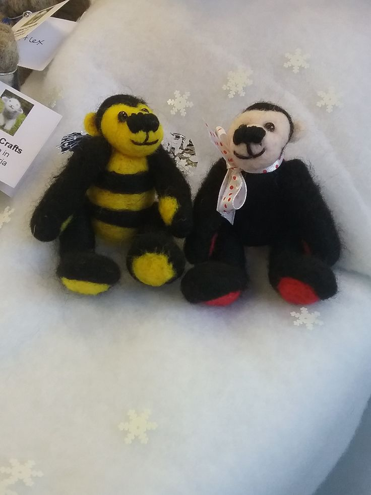 Bumble and Dotty - front view