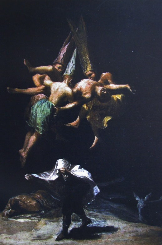 Goya - Three witches