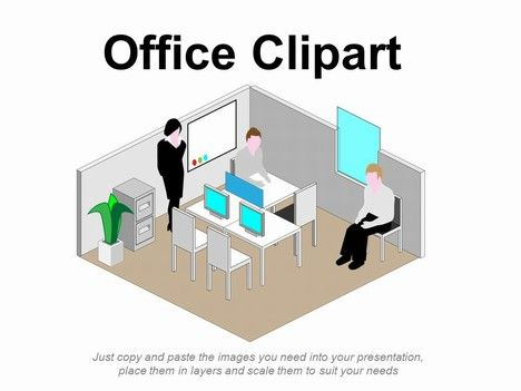 Free Office Clipart from Presentation Magazine