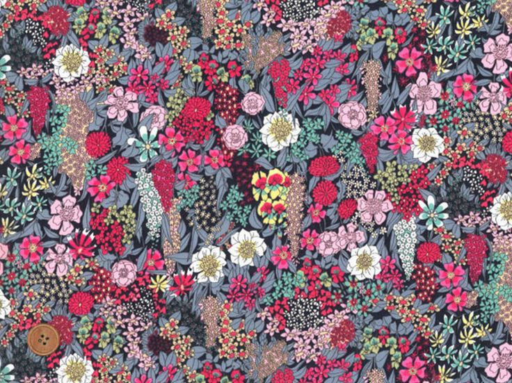 Liberty Tana Lawn Fabric, Liberty of London, Ciara, Cotton Print Scrap, Vivid Floral Colorful Design, Quilt, Patchwork fabric, kt5047b by JapanLovelyCrafts on Etsy https://www.etsy.com/listing/229034540/liberty-tana-lawn-fabric-liberty-of