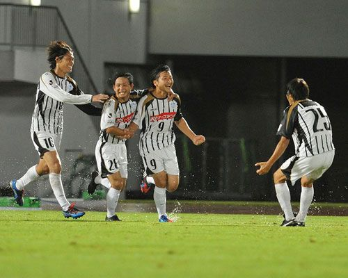 [ J2:第34節 徳島 vs 水戸 ]
