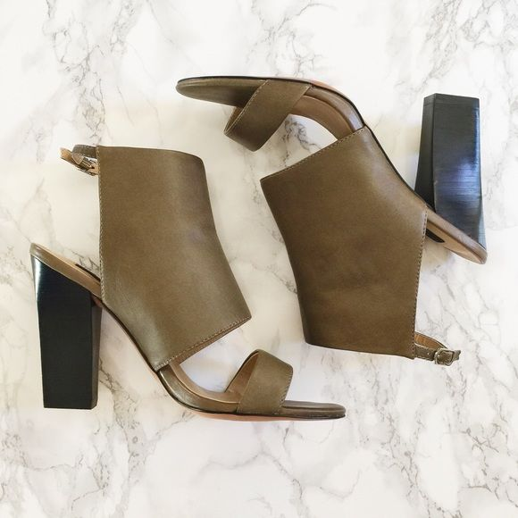 Steven by Steve Madden Citty Heels Steven by Steve Madden Citty Block Heel  in a putty