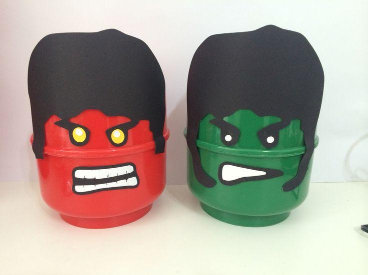 Hilo verde e seu inimigo hulk vermelho