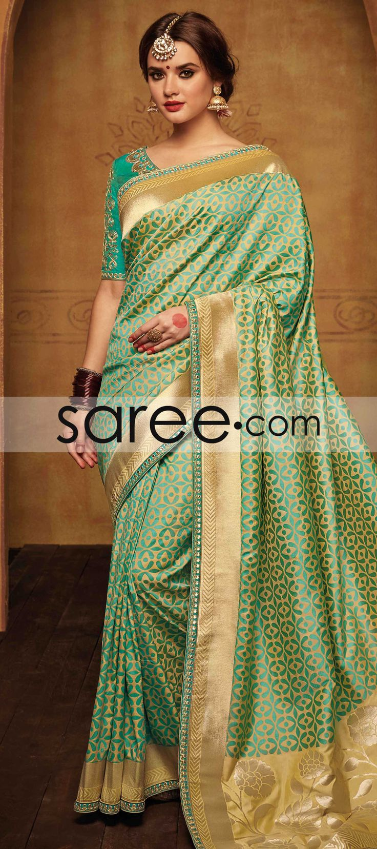 GREEN SILK SAREE WITH WEAVING  #Saree #GeorgetteSarees #IndianSaree #Sarees  #SilkSarees #PartywearSarees #RegularwearSarees #officeWearSarees #WeddingSarees #BuyOnline #OnlieSarees #NetSarees #ChiffonSarees #DesignerSarees #SareeFashion