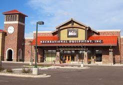 REI Store in Bozeman,  MT