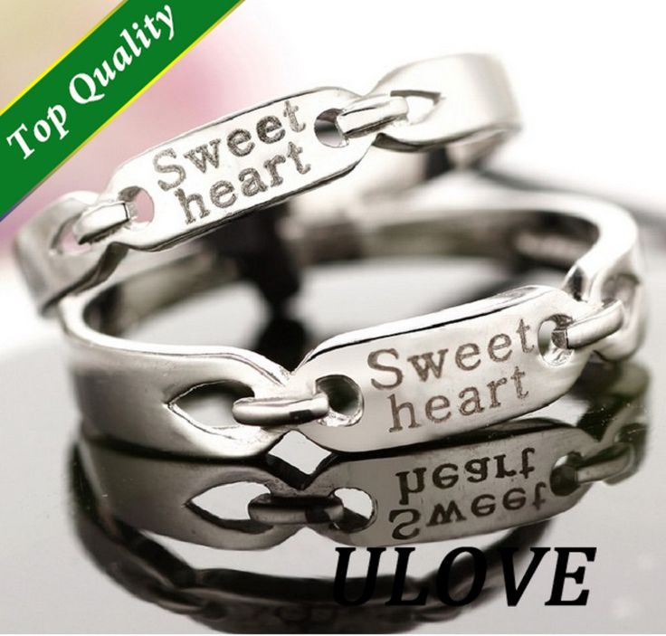 Find More Rings Information about 2 Pcs Sterling Jewelry Gothic Silver Couple Rings for Men and Women Wedding Set Band Fashion Jewelry Sweet Heart Engraving J054,High Quality ring jewelry making,China jewelry talisman Suppliers, Cheap ring mix from ULOVE Fashion Jewelry on Aliexpress.com
