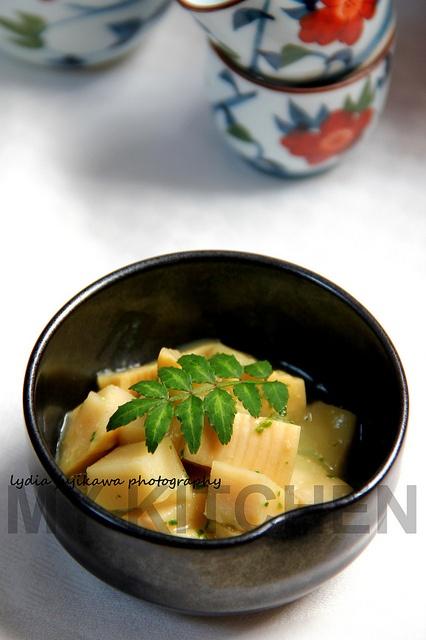 [Japanese Food]   Bamboo Shoot with Prickly Ash / 筍の木の芽の和え