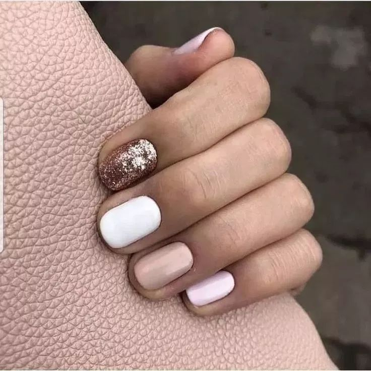 65 Best Simple Summer Nail Color Ideas For Women 2019 Feel The Beauty 44 Welcome Sns Nails Colors White Glitter Nails Summer Nails Colors