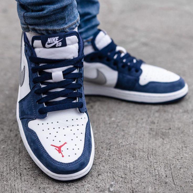 Nike SB Jordan 1 Low Koston | Chaussure sneakers homme, Chaussures ...