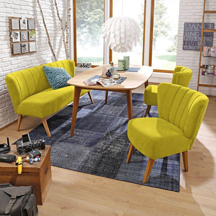 Sofabank Lentini, weiß - Bänke - Bänke & Eckbänke - Esszimmer - Möbel