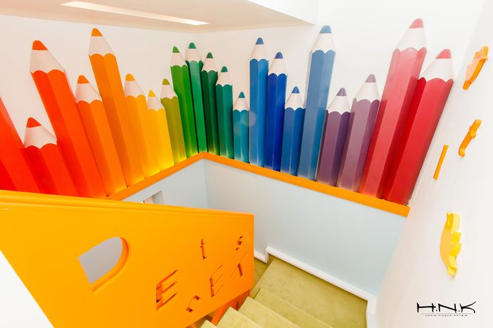 AWESOME / Dental clinic for children with a gorgeous design Dent Estet 4 Kids | by Hamid Nicola Katrib