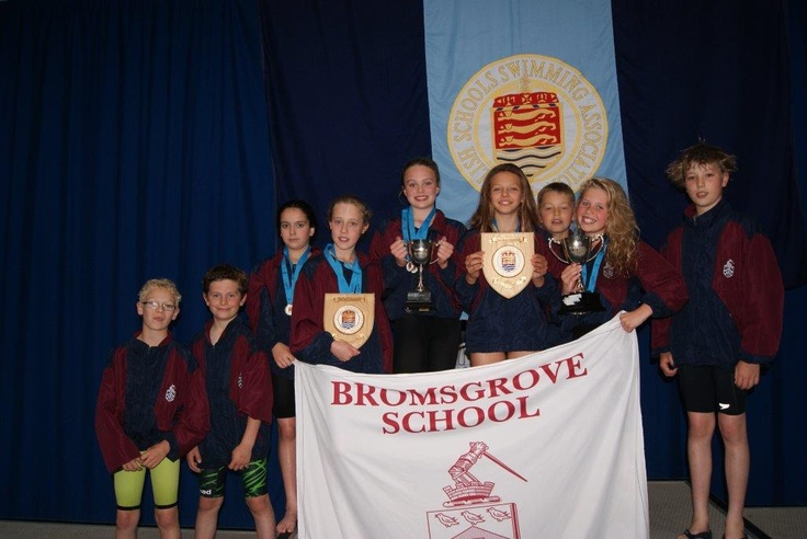 On Saturday 15th June Bromsgrove Preparatory School celebrated its finest every swimming result at Ponds Forge International Sports Centre when the U11 girls became English Schools National Champions in both the medley and the freestyle relays.    The U11 boys' 4 x 25 metre medley relay team did really well to win the B final and overall came 8th ranked in England which was an unexpected bonus.