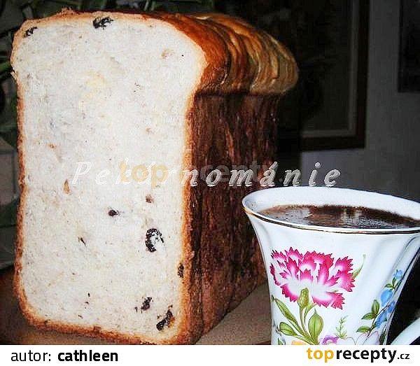Suroviny dáme do pekárny v pořadí tekuté, sypké (máslo zcela změklé) a zapneme Základní program nebo program určený k pečení sladkého kynutého...