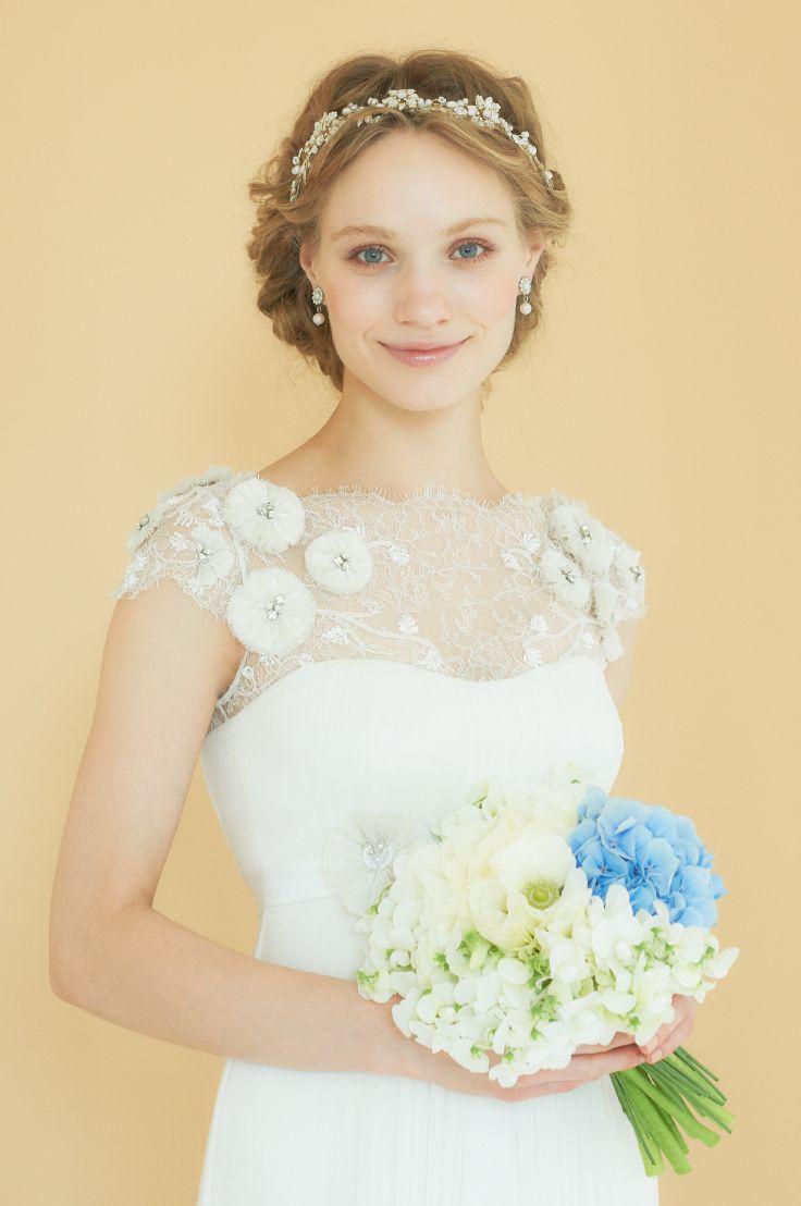 #NOVARESE #wedding #accessory #ring #earring #hedaccessory #styling #hair #Vintage #flower #ノバレーゼ #ウエディング #アクセサリー #リング #イヤリング #スタイリング #髪型 #ヘッドアクセサリー #フラワー #Temperlely London #テンパリー・ロンドン #dress #ドレス