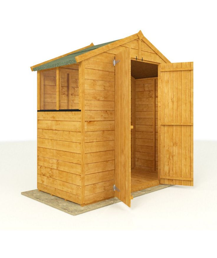 Buy BillyOh Tongue and Groove Wooden Apex 3 x 6ft at Argos.co.uk - Your Online Shop for Sheds.