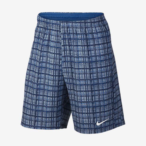"""NikeCourt Men's 9"""" Print Tennis Shorts, Court, Nike, Tennis Fashion Men, trendy Tennis Outfits for him, Tennismode, sportliche Mode fürs Tennisspielen."""