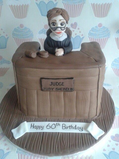 Judge judy cake | Judge Judy | Pinterest | Judges, Judge ...