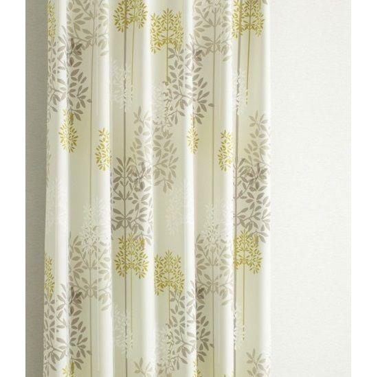 北欧デザインの1級遮光・形状記憶カーテン<ハーラ アイボリー>100サイズびっくりカーテン