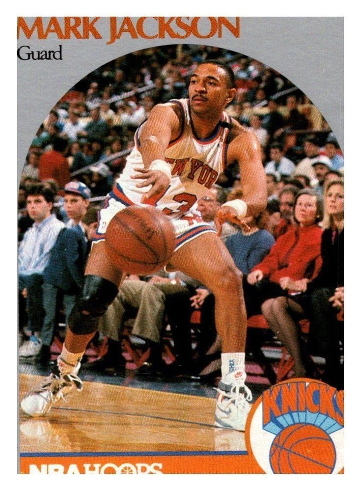 1990 Nba Hoops Mark Jackson New York Knicks See Description
