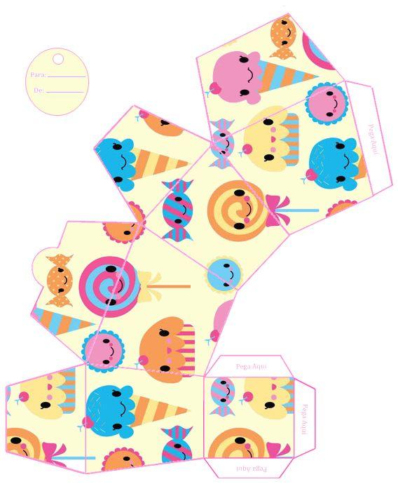 Célèbre 36 best Imprimibles images on Pinterest   Printable, Boxes and  QZ49