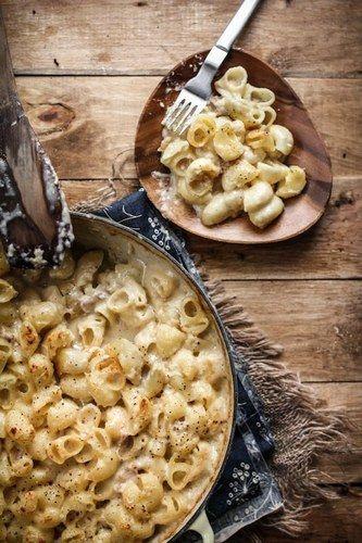 20 receitas de macarrão - Mac & Cheese