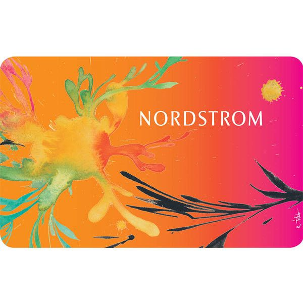 Nordstrom Classic Virtual Gift Card Splash Of Color $50 ($50) ❤ liked on Polyvore featuring gift cards, backgrounds, accessories, card and gift/operational