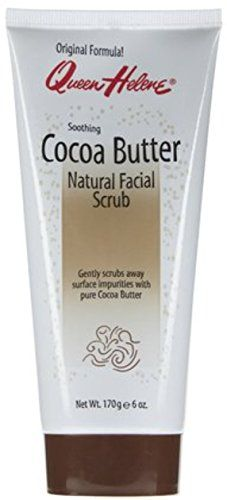 QUEEN HELENE Natural Facial Scrub Soothing Cocoa Butter 6 oz *** Click on the image for additional details.(This is an Amazon affiliate link and I receive a commission for the sales)
