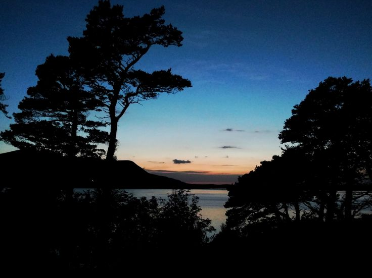 Sunset at Caragh Lake in October