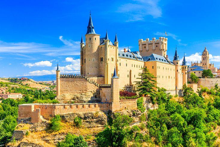 Alcazar de Segovia i Spanien #alcazardesegovia #alcazar #segovia #spanien #castle #slott #spain