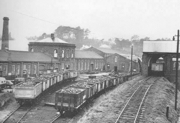 St Blazey sheds 1958