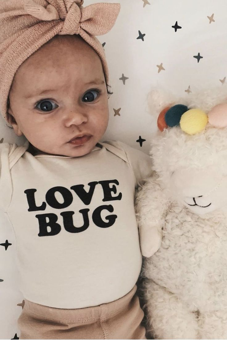 Love Bug – Organic Bodysuit