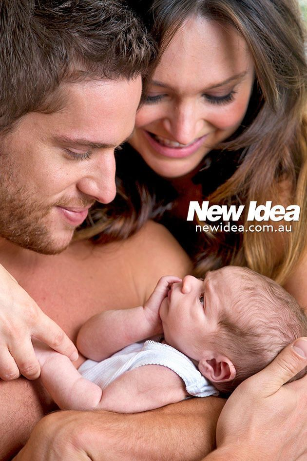 Former Home and Away star Dan Ewing shares photos of his new baby boy - Yahoo!7