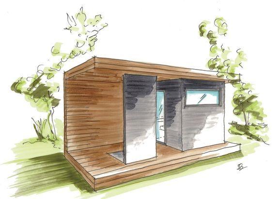 Modern Outdoor Sauna For Your Garden Sopra Ag Outdoor Sauna Sauna Design Sauna House