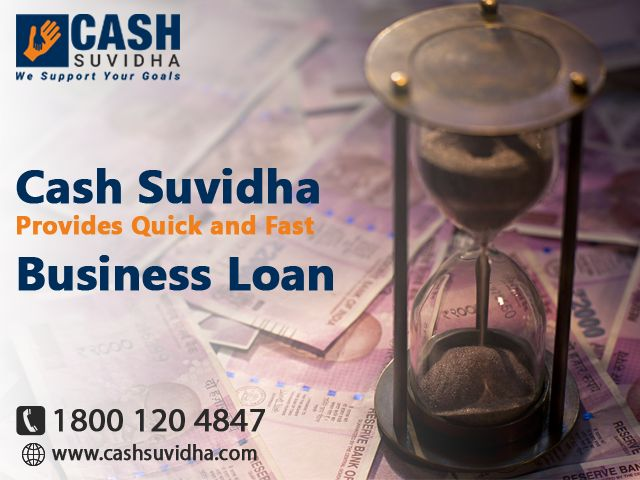 Cash Suvidha offers quick and fast Business Loans for SMEs. #BusinessLoan #LoanforSME #QuickApproval #LowROI #Delhi