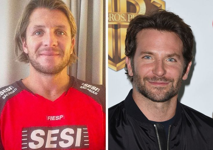 Holy Hell, This Olympic Water Polo Player Could Be Bradley Cooper's Twin
