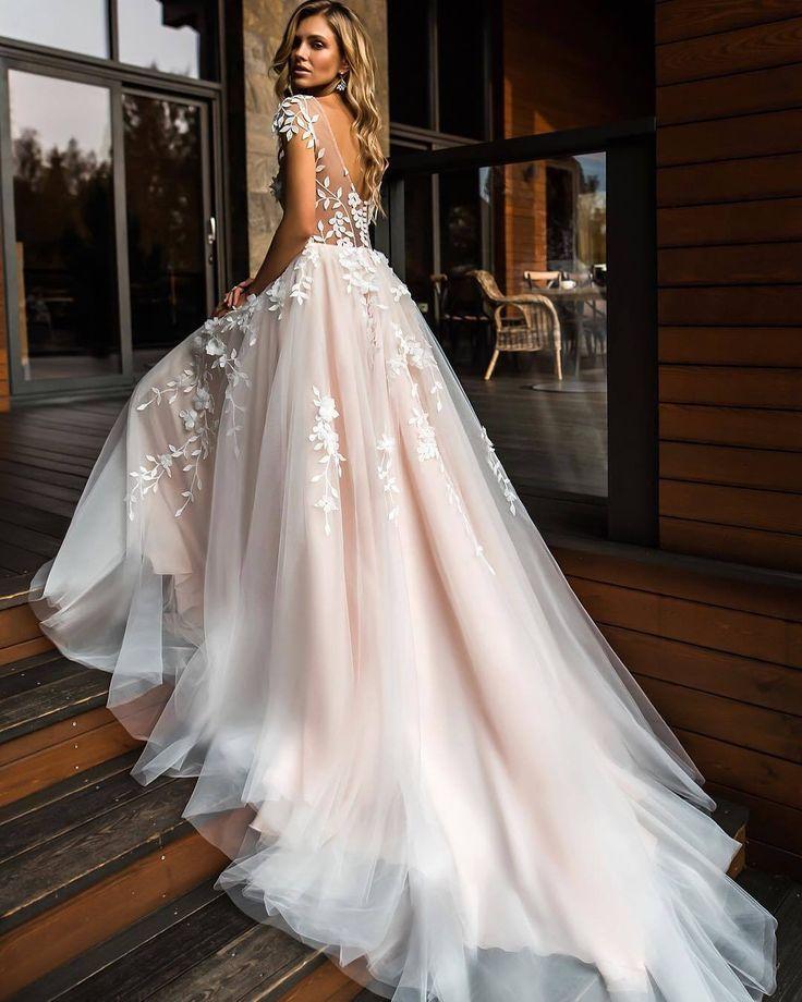 Sie suchen Ihr Brautkleid für 2019? Hier sind die Top 7 Trends für n …